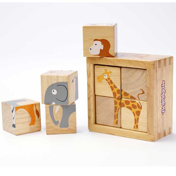 Buddy Blocks - Safari Animals
