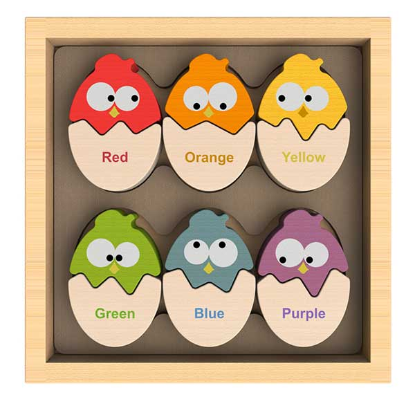 Colors N Eggs Bilingual Puzzle