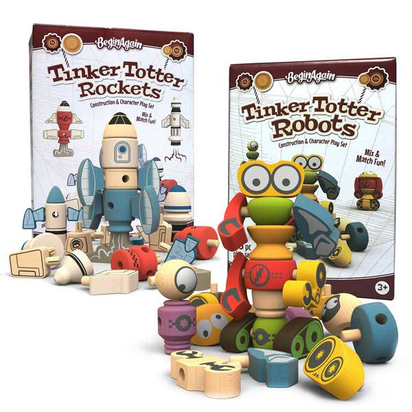 Tinker Totter Robots & Rockets Blast Off Bundle Pack
